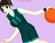 Akira Kazami Basketball Outfit