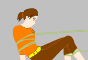 Anna in a Rope