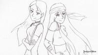 Marcella and Hunter