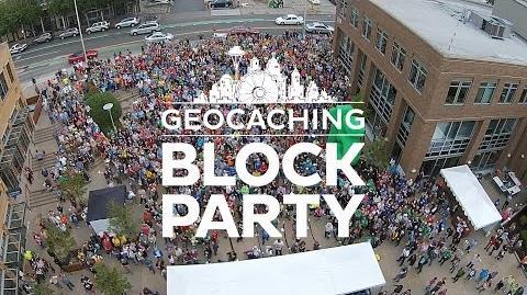 Block Party 2015 - Drone's eye view