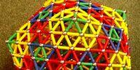 Creased Platonic Deltahedra