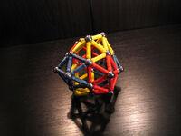 (0 0 12 17) deltahedron