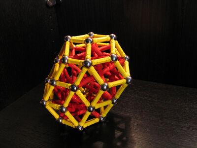 Elongated rhombic triacontahedron