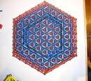 Triple hexagonal base