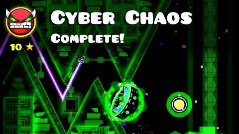 Geometry Dash - Hinds (me) - Cyber Chaos (Insane Demon)