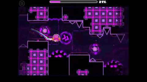 EXTREMELY HARD GEOMETRY DASH LEVEL! - Cosmic Calamity, by me and others! (semi-auto)