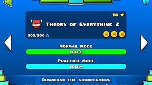 Geometry Dash - Theory of Everything 2