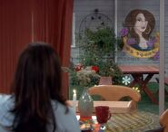 GL ep 2x14 - George unveils Angie's painting to her