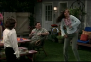 Ep 4x21 - Angie doin' her dance at cookout