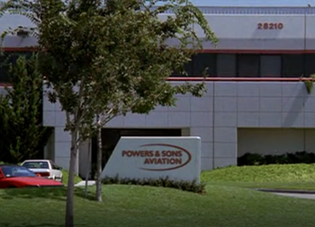Powers & Sons Aviation entrance