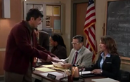 Ep 4x14 - George tries to get help for Max at the School Board meeting