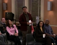 Ep 4x14 - George disrupts the school meeting