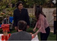 GL ep 2x14 - George and Angie's backyard party
