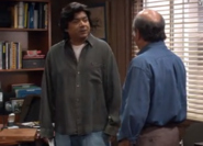 George confronts Manny