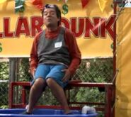 Ep 3x19 - George at the dunk tank