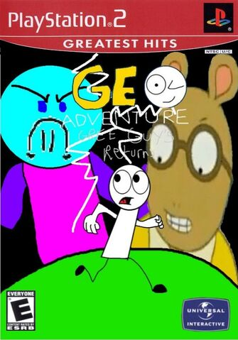 File:Geo Adventure Gree Guy's Returns PS2 cover Greatest Hits.jpg