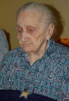 Julianna Garbacz aged 108