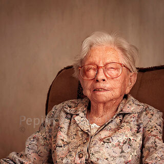 Hendrikje at age 113.