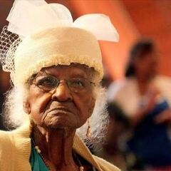 Jeralean Talley at age 114