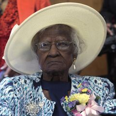 Jeralean Talley at age 115