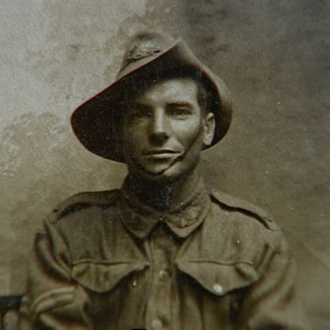 Pictured whilst serving in the Australian Army