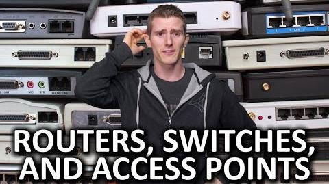 Routers vs. Switches vs