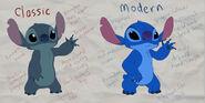 Stitch differences by prinzeburnzo-d608dma