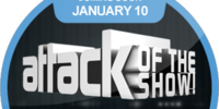 Attack of the Show! Live from CES Coming Soon (Sticker)