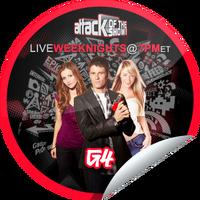 Attack of the Show Fan Sticker