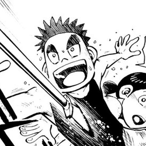 Goki takes a spear for <a href=