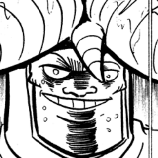 Garo grins