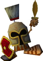 Helmet Dwarf