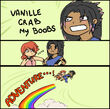 Vanille x Fang Adventure by x Moosaka X