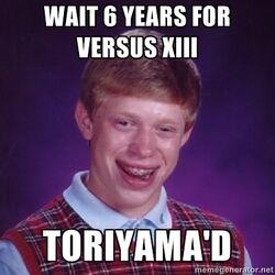 VersusToriyama'd
