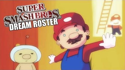 Smash Bros 4 Dream Roster