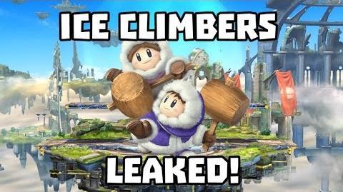 Leaked Ice Climbers Trailer - Smash Bros Wii U 3DS