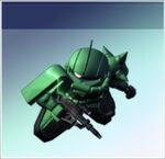 MS-06S Zaku II Commander Type