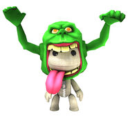 Little Big Planet costume Slimer