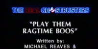 Play Them Ragtime Boos