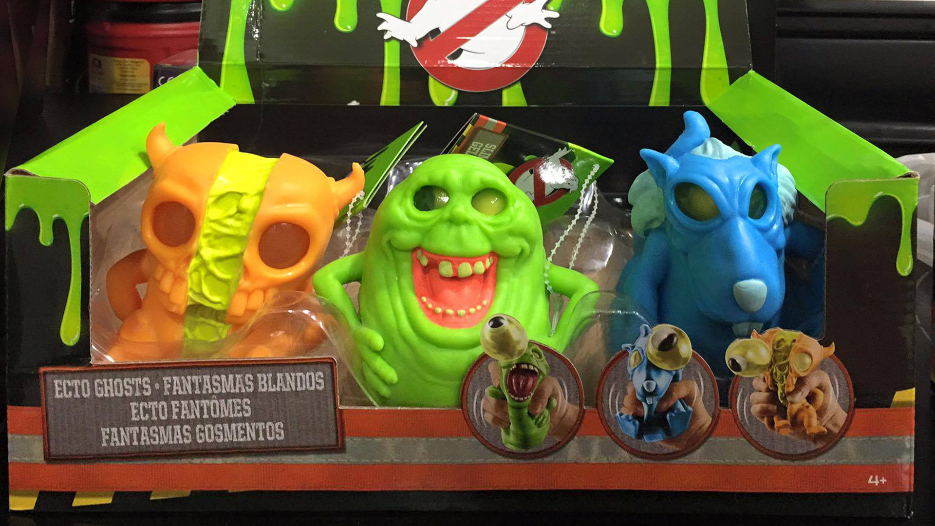 Mattel Ghostbusters Ecto Ghosts Set Ghostbusters Wiki