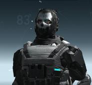 L3A Ballistic Mask HLW