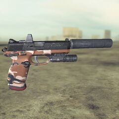 Ghost recon Future Soldier FN FNP45 5