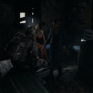 Bowman thanks Nomad for saving Gabriela.