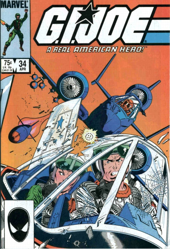 Image result for G.I.Joe #34