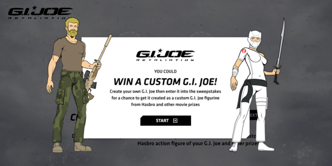 Build a joe contest