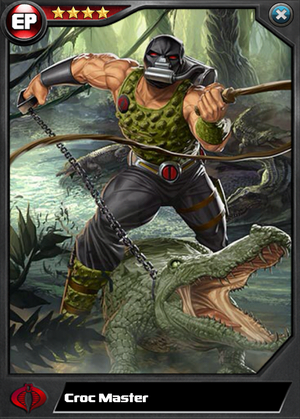 Croc Master (Super Soldier) EP4