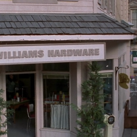 William's Hardware sign