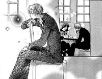 Fujimura listening to noguchi