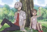 Hotarubi-gin & hotaru under the tree