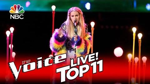 """The Voice 2016 Darby Walker - Top 11 """"You Don't Own Me"""""""